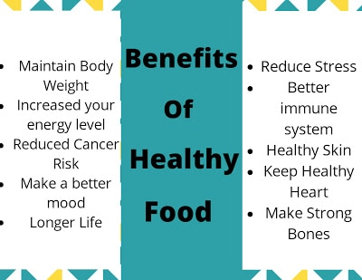 Benefits of Healthy foods in Our Life