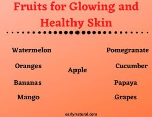 Fruits for Glowing and Healthy Skin