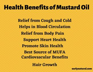 Mustard Oil Benefits, Nutrition and its use