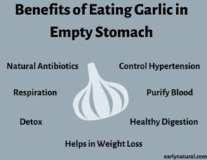 Garlic in an Empty Stomach