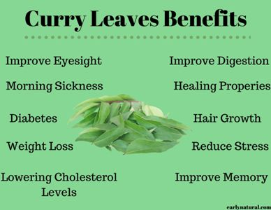 Curry Leaves Benefits For Our Health