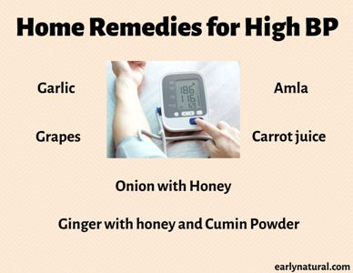 Home Remedies for High Blood Pressure Patient