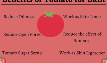Benefits of tomato for skin care