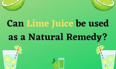 Lime juice benefits